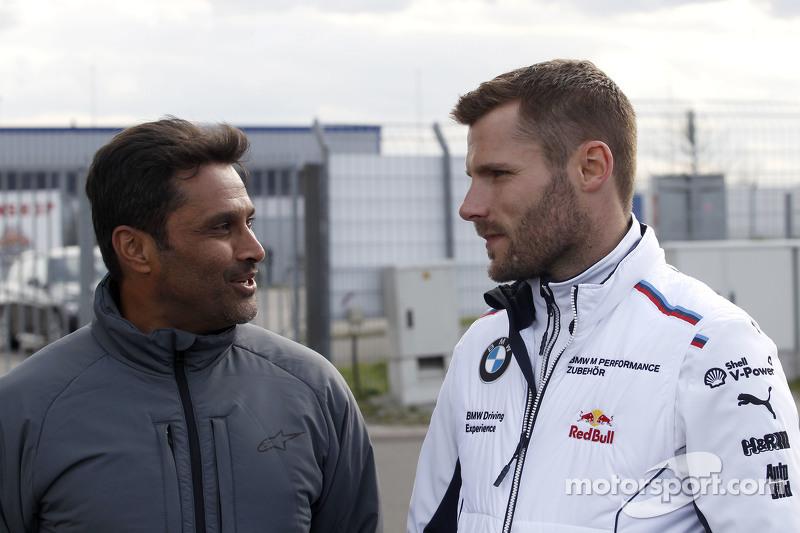 Nasser Al Attiyah und Martin Tomczyk, BMW Team Schnitzer, BMW M4 DTM