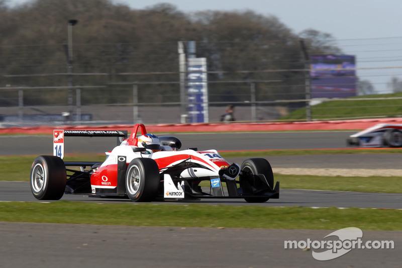 Matt Rao, Fortec Motorsports Dallara F312 Mercedes-Benz