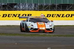 #85 Gulf Racing UK, Lamborghini Gallardo LP560 GT3: Roald Goethe, Daniel Brown, Archie Hamilton