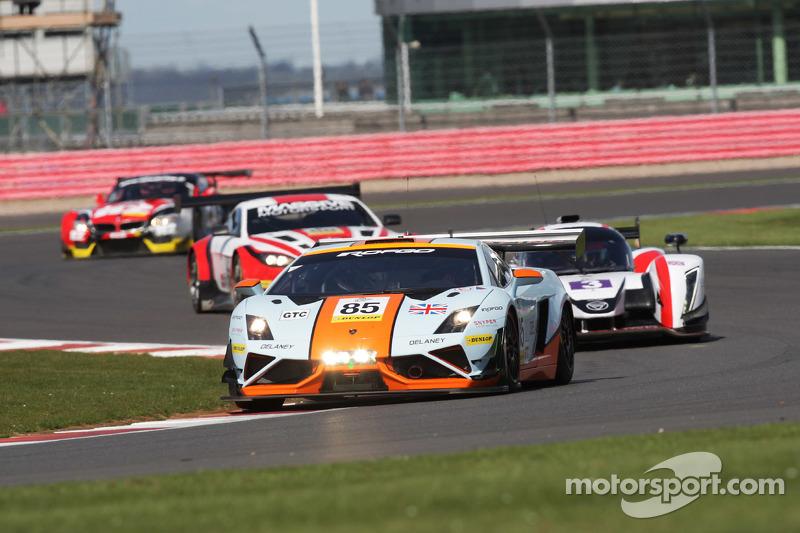#85 Gulf Racing UK Lamborghini Gallardo LP560 GT3: Роальд Гете, Daniel Brown, Archie Hamilton