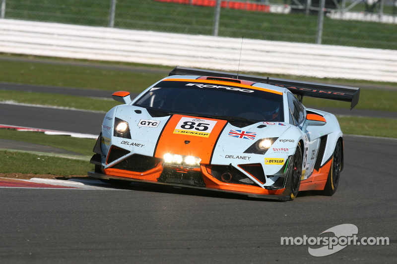 Marvelous #85 Gulf Racing UK Lamborghini Gallardo LP560 GT3: Roald Goethe, Daniel  Brown,