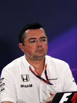 Eric Boullier, Team Principal de McLaren