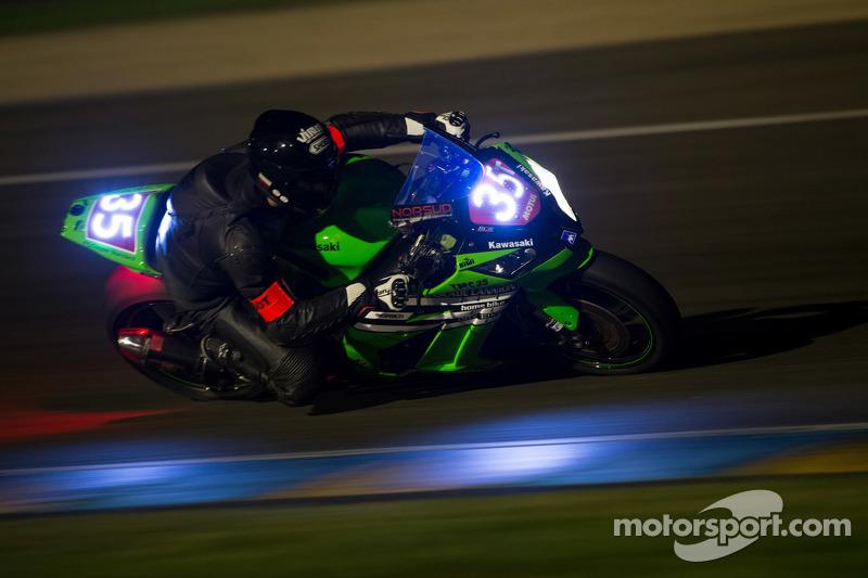 #35 Kawasaki: John-Ross Billega, Maxime Diard, Sébastien Boizart