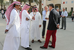 Kronprinz Shaikh Salman bin Isa Hamad Al Khalifa