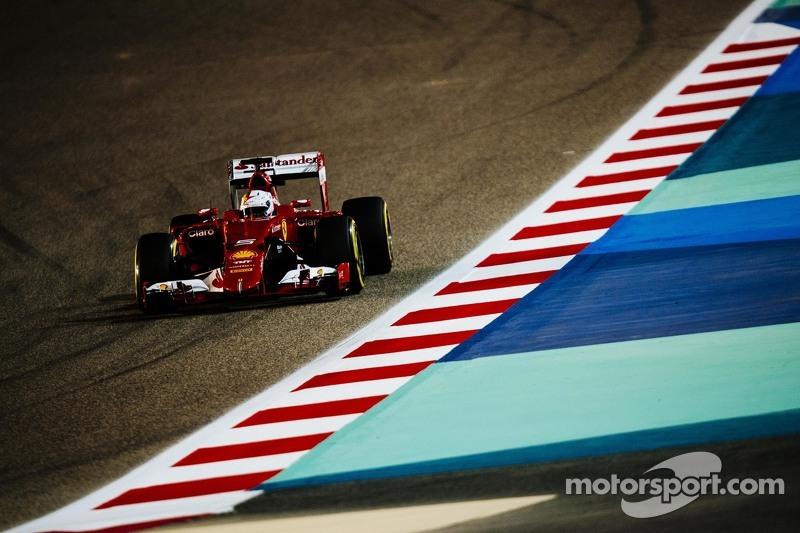 Sebastian Vettel, Ferrari S15-T