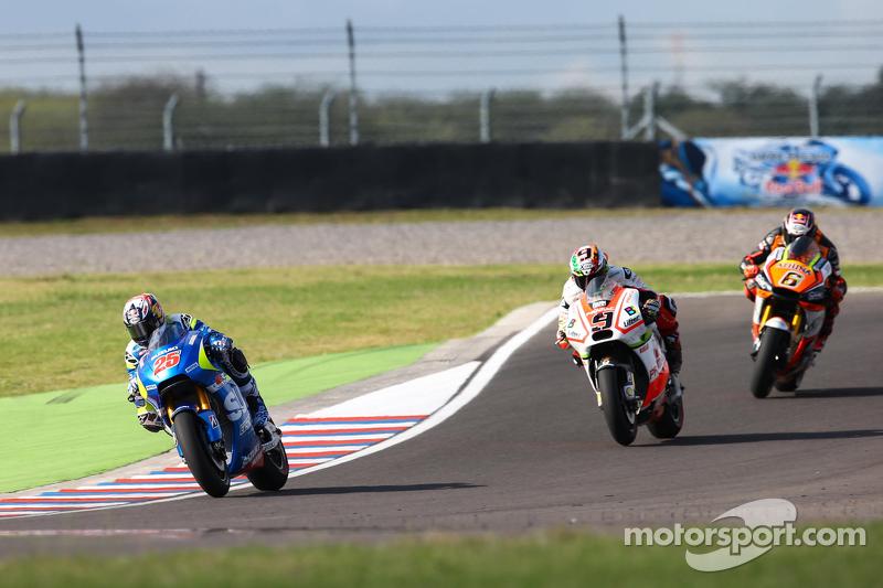 Maverick Viñales, Suzuki MotoGP Takımı ve Danilo Petrucci, Pramac Ducati ve Stefan Bradl, Athina Forward Yarış Takımı Yamaha