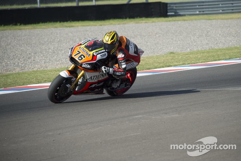 Лоріс Баз, Athina Forward Racing Yamaha