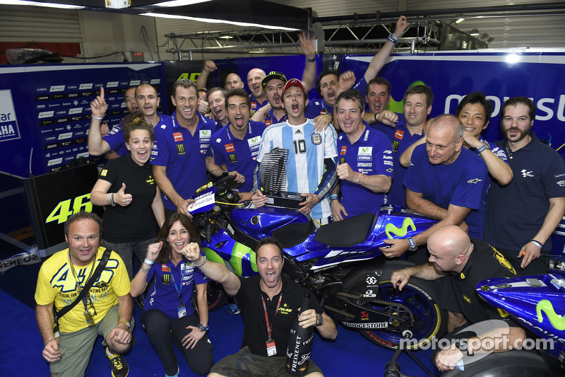 Pemenang balapan, Valentino Rossi, Yamaha Factory Racing