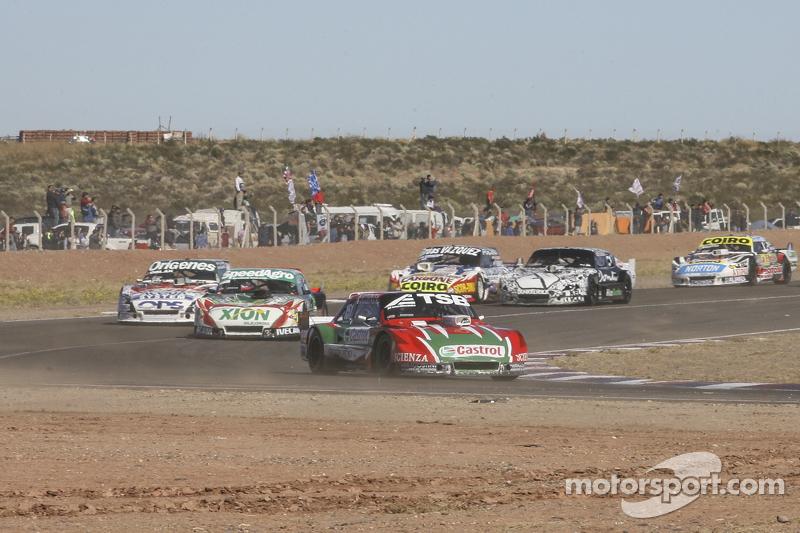 Jose Manuel Urcera, JP Racing, Torino; Norberto Fontana, Laboritto Jrs, Torino, und Camilo Echevarri