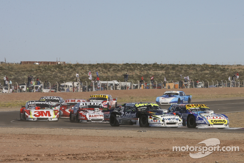 Mauricio Lambiris, Coiro Dole Racing, Torino; Diego de Carlo, JC Competicion, Chevrolet; Pedro Genti