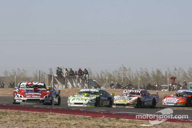 Matias Rossi, Donto Racing Chevrolet Agustin Canapino, Jet Racing Chevrolet Juan Marcos Angelini, UR Racing Dodge