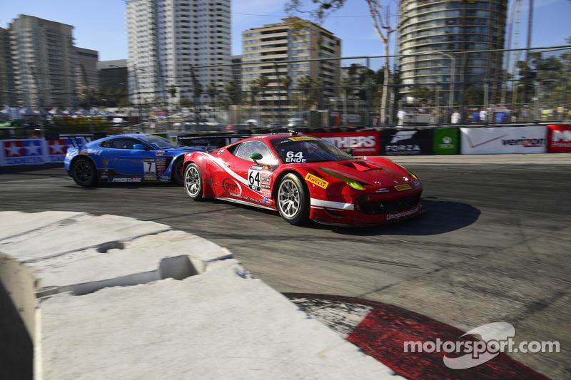 #64 Scuderia Corsa 法拉利 458 GT3 Italia: Duncan Ende