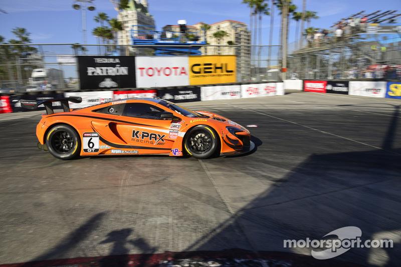 #6 K-Pax Racing, McLaren 650S GT3: Robert Thorne