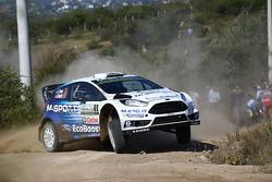 Elfyn Evansand Daniel Barrit, Ford Fiesta Rs Wrc, M-Sport World Rally Team