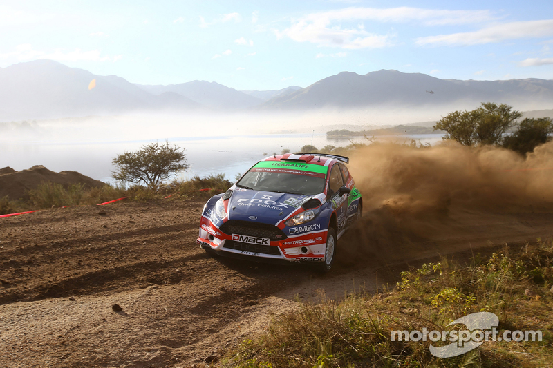 NicoláS Fuchs和Fernando Mussano, 福特 Fiesta R5, Drive Dmack