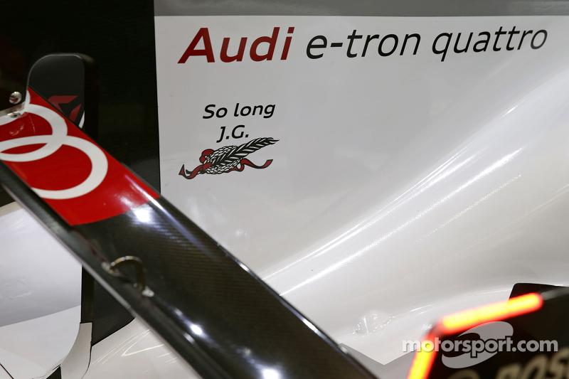 Audi Sport Team Joest, Audi R18 e-tron quattro, Detail