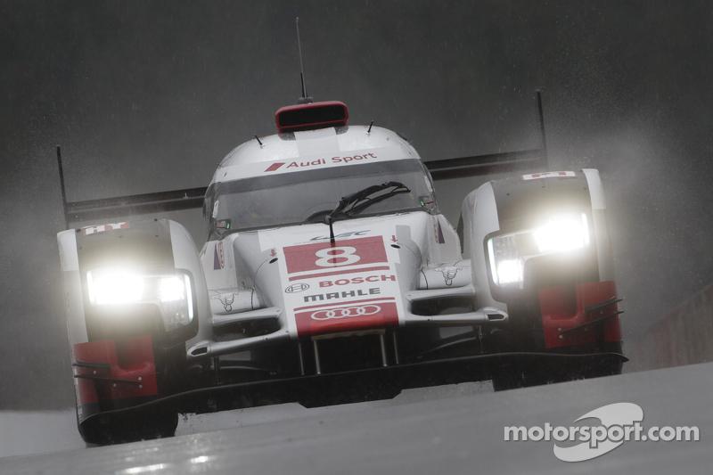 #8 奥迪运动车队,奥迪R18 e-tron quattro Lucas di Grassi, Loic Duval, Oliver Jarvis