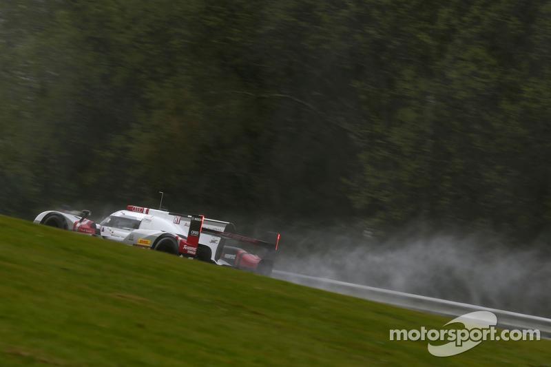 #9 Audi Sport Team Joest Audi R18 e-tron quattro Філіпе Альбукерке, Марко Бонаномі, Рене Раст