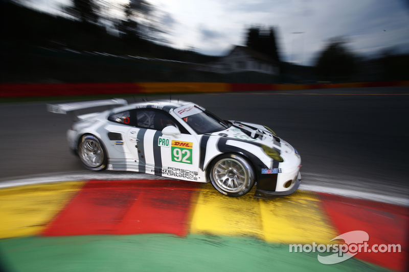 #92 Porsche Team Manthey, 911 RSR: Patrick Pilet und Frederic Makowiecki
