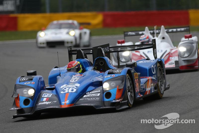 #36 Signatech, Alpine A450B Nissan: Nelson Panciatici, Paul-Loup Chatin, Vincent Capillaire