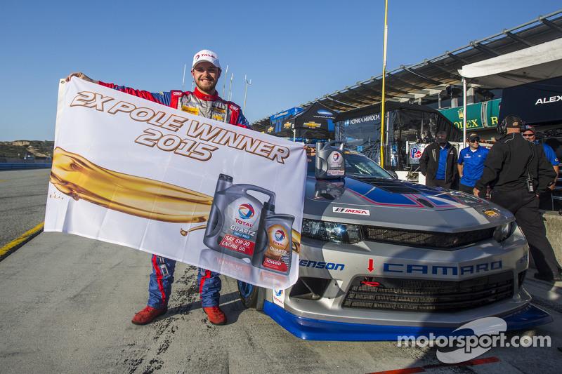 #9 Stevenson Motorsports,雪佛兰科迈罗 Z/28.R: Lawson Aschenbach, Matt Bell