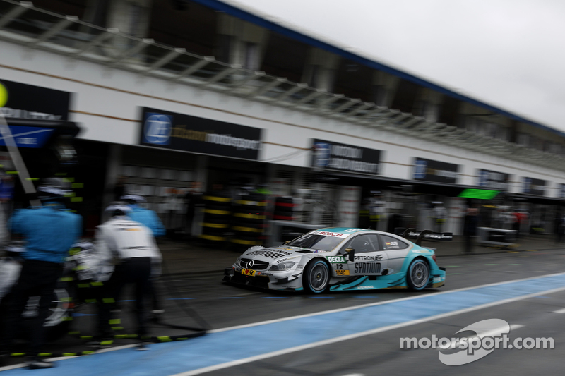 Pitstop, Daniel Juncadella, Mücke Motorsport Mercedes-AMG C63 DTM