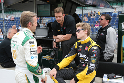 Ed Carpenter and Josef Newgarden