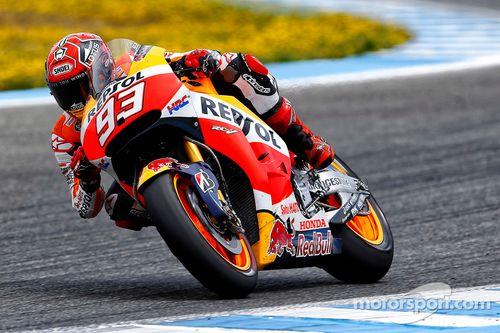 test di maggio a Jerez