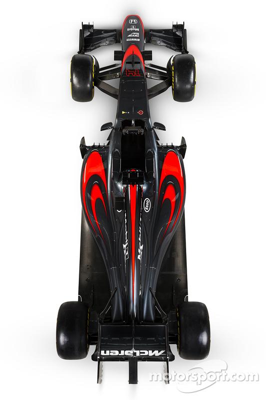 McLaren ліврея презентація