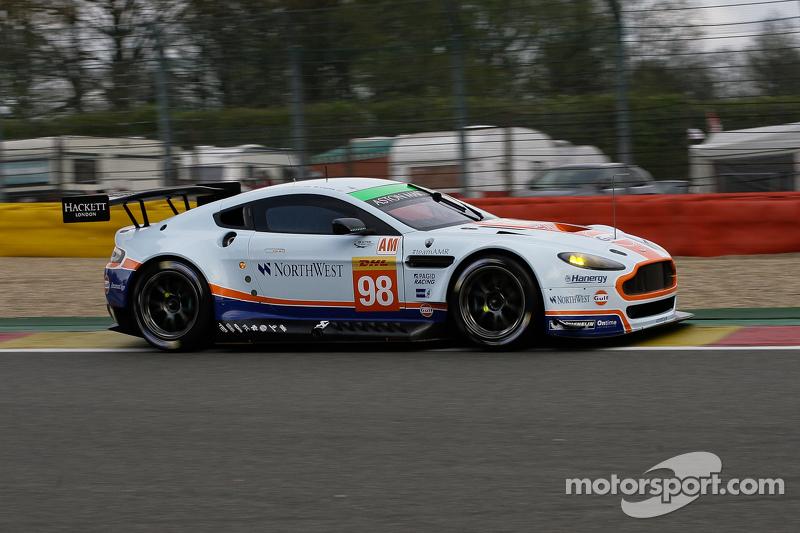 #98 Aston Martin Racing, Aston Martin Vantage V8: Paul Dalla Lana, Pedro Lamy, Mathias Lauda