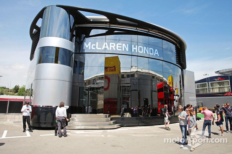 McLaren моторхоум