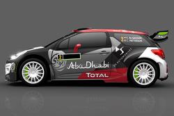 Presentación del auto de Khalid Al Qassimi-y Chris Patterson, Citroën DS3, Citroën World Rally Team