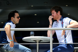 Felipe Massa, Williams F1 Team and Rob Smedley, Williams F1 Team, Chief Engineer