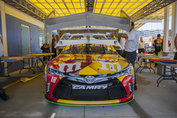 Das Auto von Erik Jones, Joe Gibbs Racing, Toyota