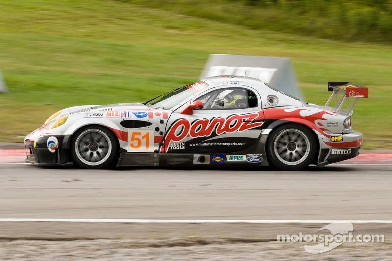 #51 Multimatic Motorsports Team Panoz Panoz Esperante GTLM: Gunnar Jeannette, Tom Milner