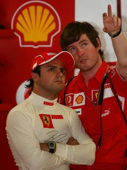 Felipe Massa e Rob Smedly