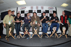 Barenaked Ladies with Kevin Harvick, Richard Childress and Ed Peper, Chevrolet General Manager