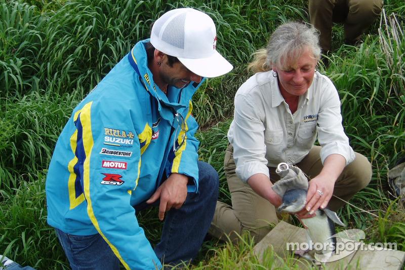 John Hopkins explora la fauna australiana