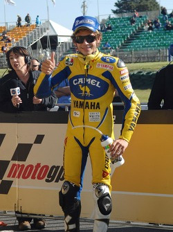 Valentino Rossi takes third qualifying time