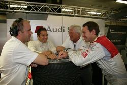 Andreas Roos, Timo Scheider, Arno Zensen and Frank Stippler