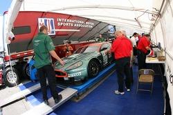 Aston Martin Racing Aston Martin DB9 at technical inspection