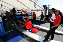 IMSA official at work