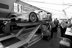 Aston Martin Racing Aston Martin DB9 at technical inspection