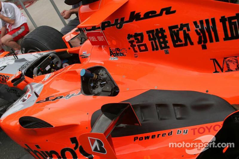 Spyker MF1 Racing Toyota M16