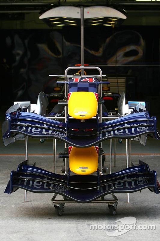 Alerones delanteros de Red Bull Racing RB2