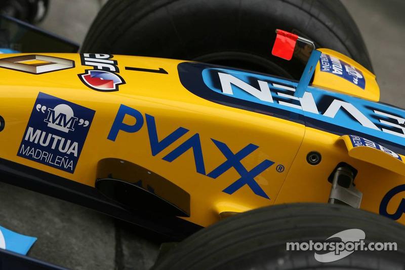 Nariz de Renault F1 Team