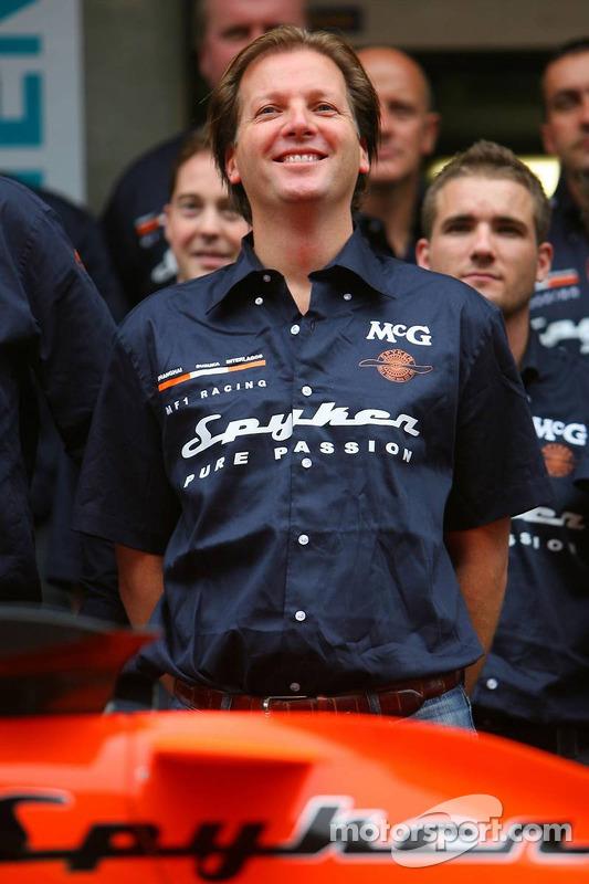 Sesión de fotos: Michiel Mol, futuro director de Formula One Racing