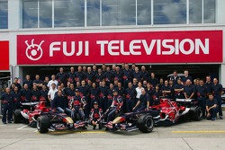 Scuderia Toro Rosso team photoshoot