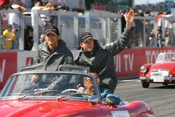 Pedro de la Rosa y Kimi Raikkonen