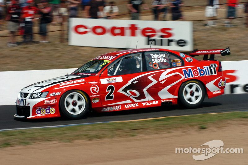 Garth Tander pendant la qualification
